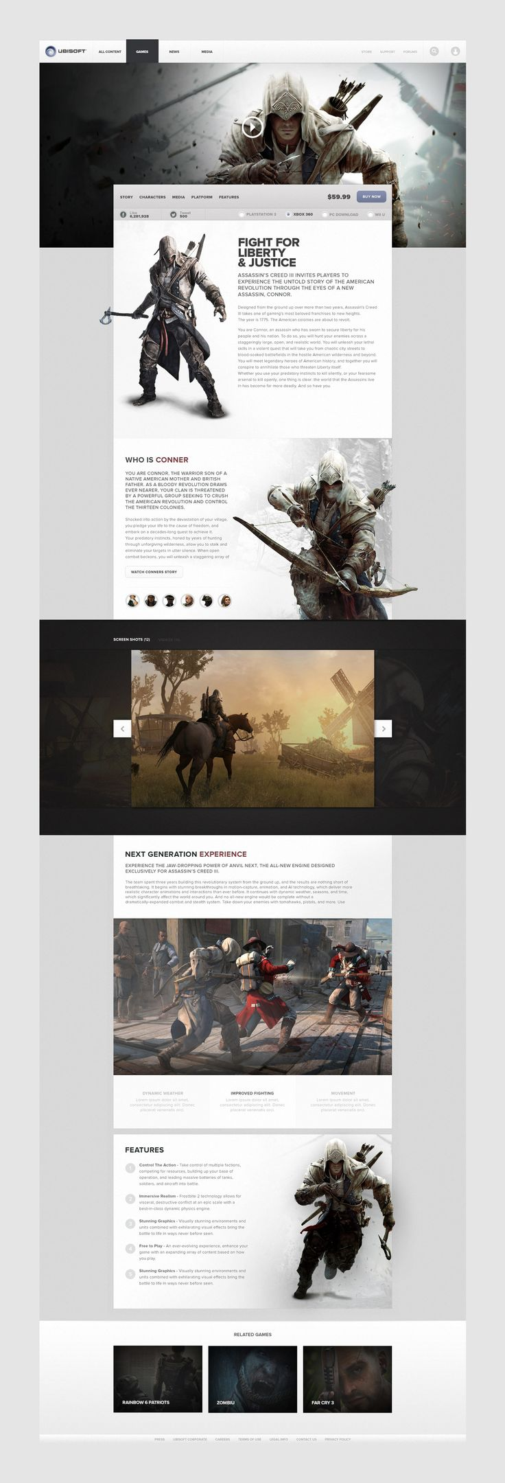 Ubisoft Web Platform by BASIC www.basicagency.com