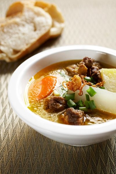 Recipe Beef Oxtail Soup A Bowl Of Oxtail Soup A Hearty Malay Classic