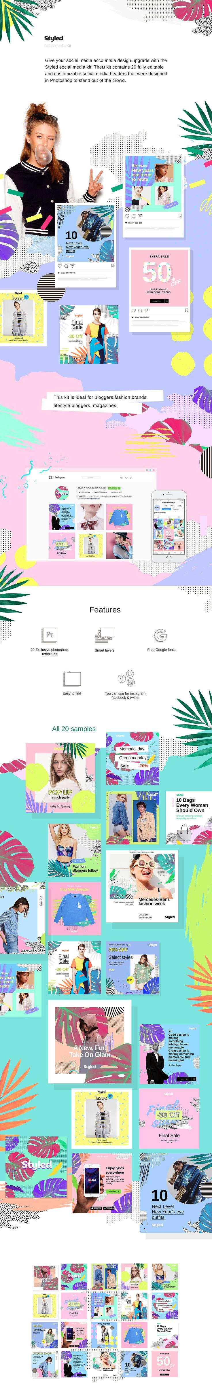 67 best Social Media Design images on Pinterest