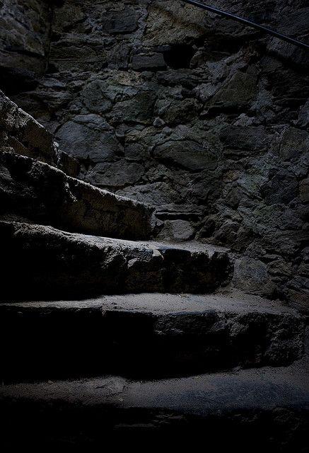 """mythopoetical: """"Medieval stairs by Jovan Kubicek on Flickr. """""""