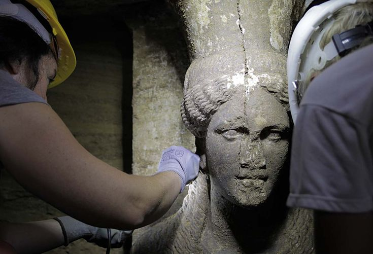 Archaeologists Explore the Largest Greek Tomb Ever Found Wednesday, November 26, 2014 Researchers hope artifacts inside the massive tomb will solve the mystery of who's buried there.