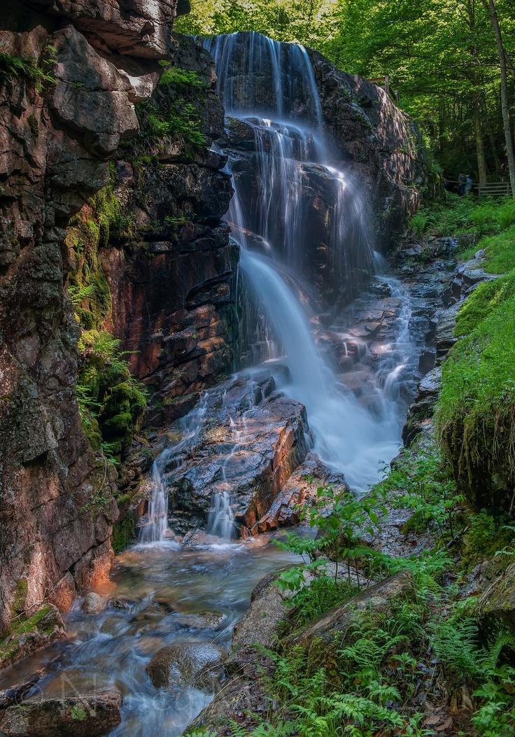Flume Gorge in New Hampshire courtesy Nancy Marshall.