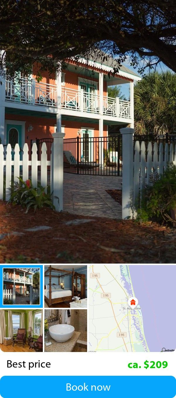 Bayfront Marin House (St. Augustine, USA) – Book this hotel at the cheapest price on sefibo.