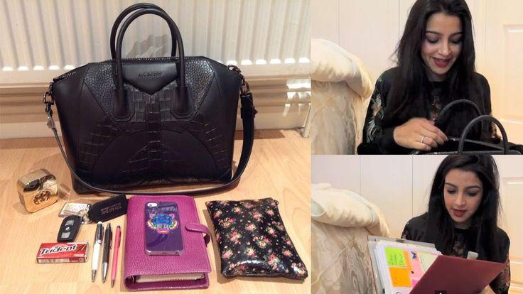 Whats In My BAG? Givenchy Antigona Medium