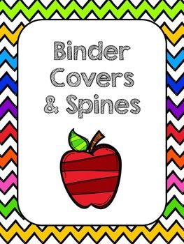 These bright, happy binder covers and spines are a great way to help organize and label your 3 ring binders. Included are 28 binder covers (listed below) and matching spines. The spines are included in a 1.5 inch and a 3 inch size. (The only exception is the Leadership Notebook, which is only included in a 1.5 inch size.) I have also included blanks in each size.These match perfectly with my Classroom Rewards cards and Class Jobs and are a part of my Chevron Classroom Management…