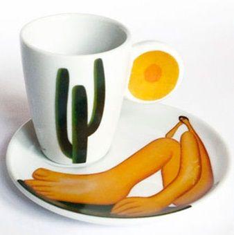 objetos inspirados na arte de tarsila do amaral 03 - artes visuais - desenho - pintura - escultura