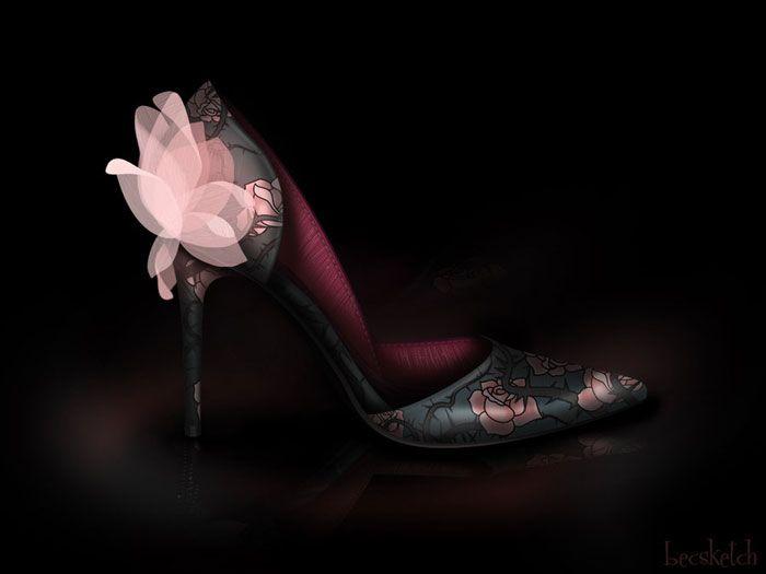 Sapatos inspirados nas princesas da Disney  *--*    #AURORA