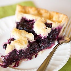 This is the BEST Blueberry Pie recipe you'll ever make. It's easy, uses a homemade blueberry pie filling and tastes amazing!