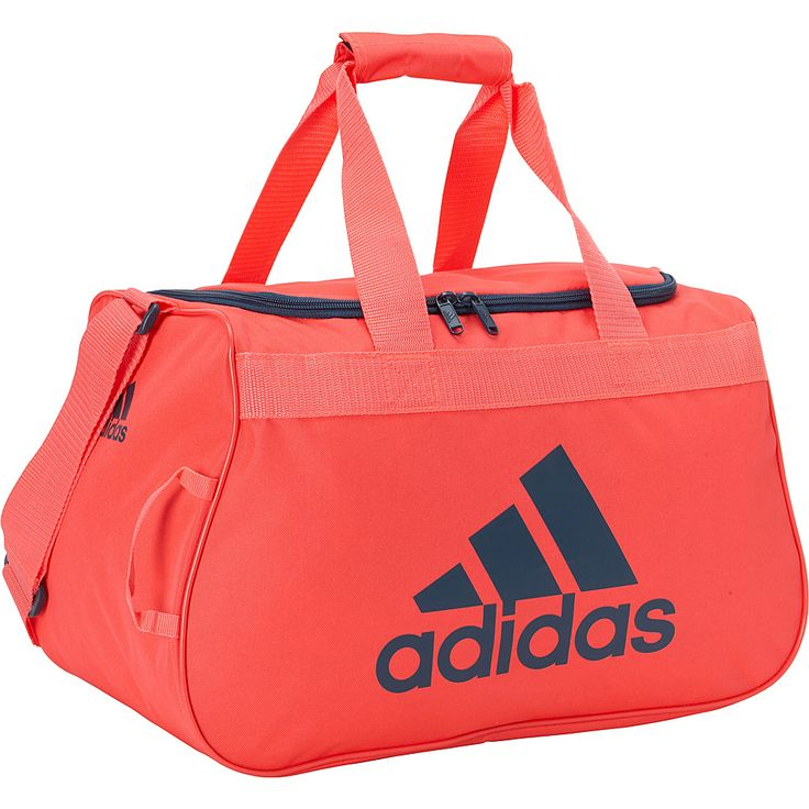 Image of adidas Diablo Duffel Small Shock Red / Mineral - adidas All Purpose Duffels