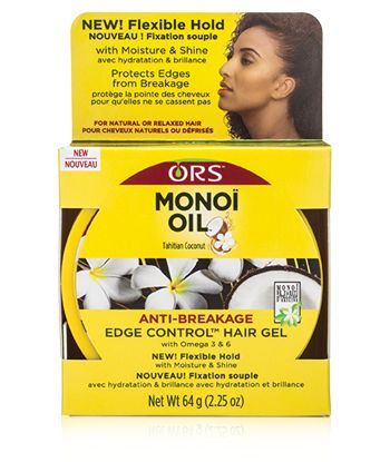 Luxe Beauty Supply - ORS Monoi Oil Anti-Breakage Edge Control™ - 2.25 oz, $5.99 (http://www.lhboutique.com/ors-monoi-oil-anti-breakage-edge-control-2-25-oz/)
