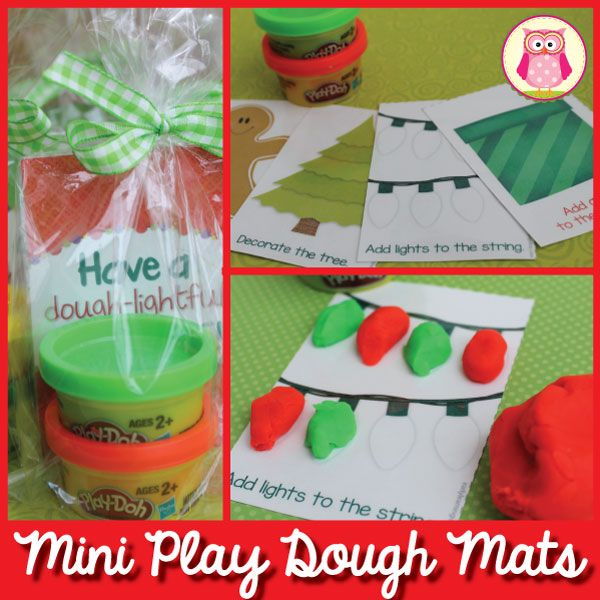 These mini holiday play dough mats will make great little gifts for students, sweet party favors, or just a fun activity to occupy kids during a Christmas or holiday gathering. I created 4 different mini holiday play dough mats. Print them, laminate them, and cut them out. I found a package of little Play-doh containers [...]