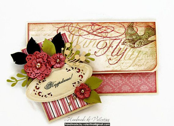 Romantic Vintage Wedding Giftholder | Money Holder | Congratulations by preciouslifemoments. Explore more products on http://preciouslifemoments.etsy.com