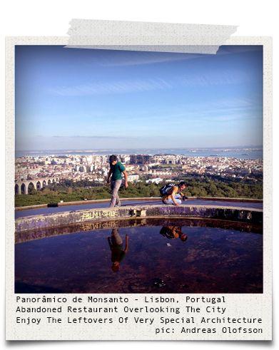 Panorâmico de Monsanto - Lisbon, Portugal (pic: Andreas Olofsson via www.hiddentreasures.ch)