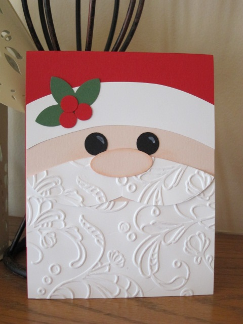 one Christmas card pattern from 2011