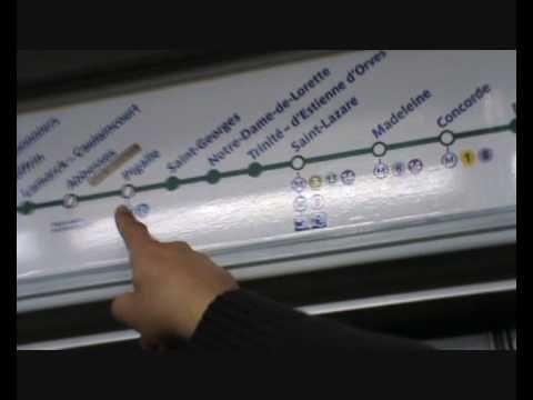 Excellent backdrop for storytelling activities around authentic culture Comment prendre le Métro à Paris
