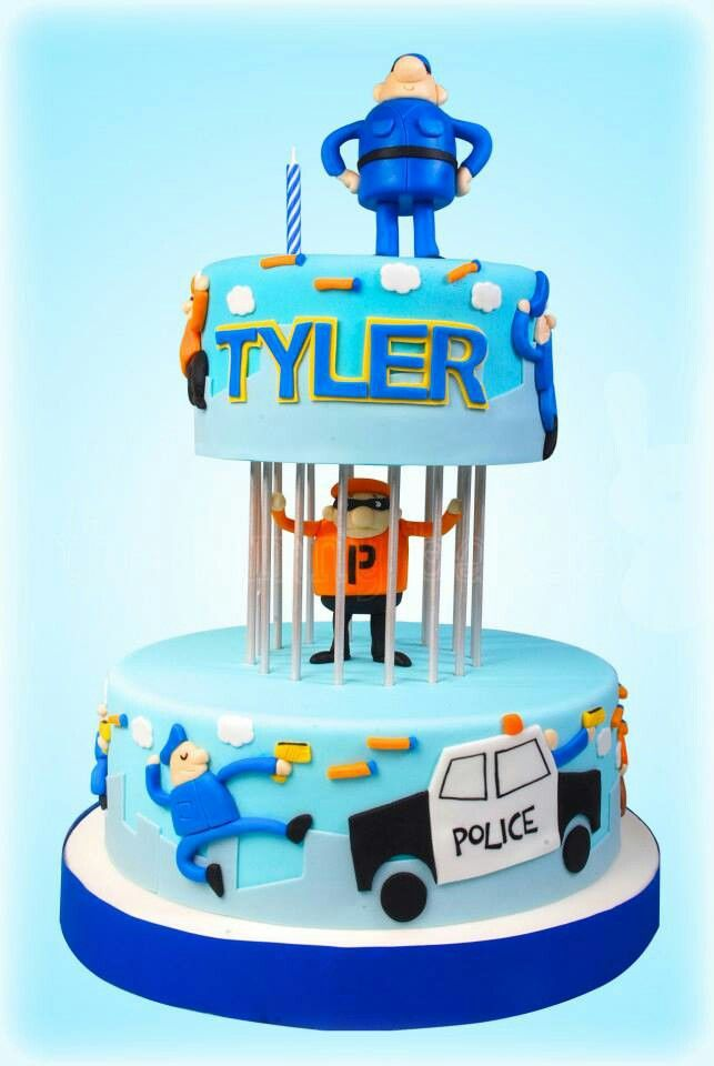 17 Best ideas about Police Cakes on Pinterest Cop cake ...