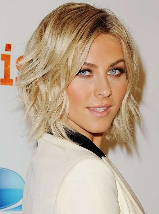 Capelli medio corti estate 2014 - Bob scalato di Julianne Hough