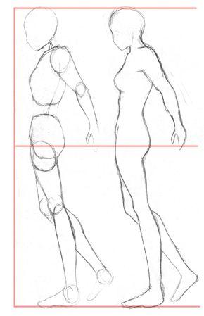 Aprende a dibujar un cuerpo humano,ropa,anime y a colorear