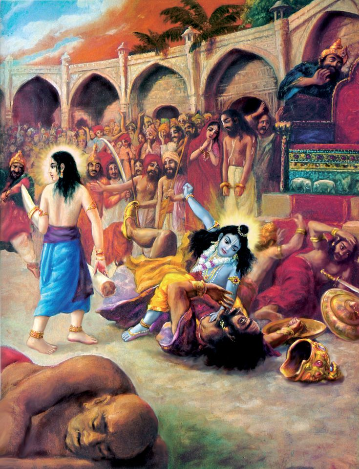 Bhagavad Gita: In order to deliver the pious and to annihilate the miscreants...