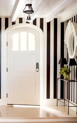 striped walls