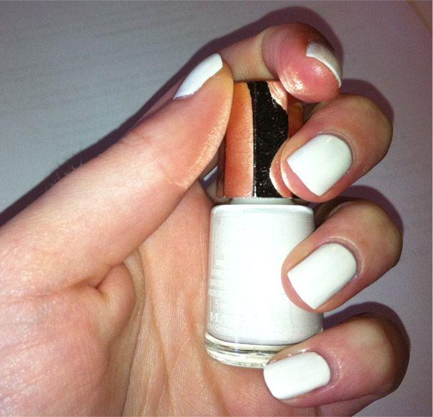 Лак для ногтей Белый