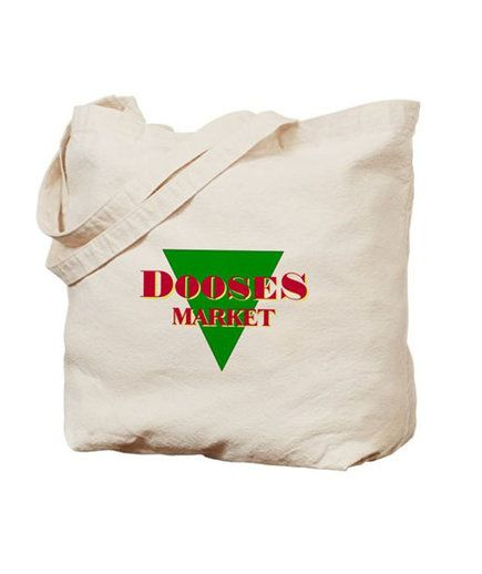 Doose's Market Tote Bag   Before you return to Stars Hollow on November 25, stock up on these shirts, prints, mugs, and more—all made for Gilmore Girls devotees. Oy with the merch already!