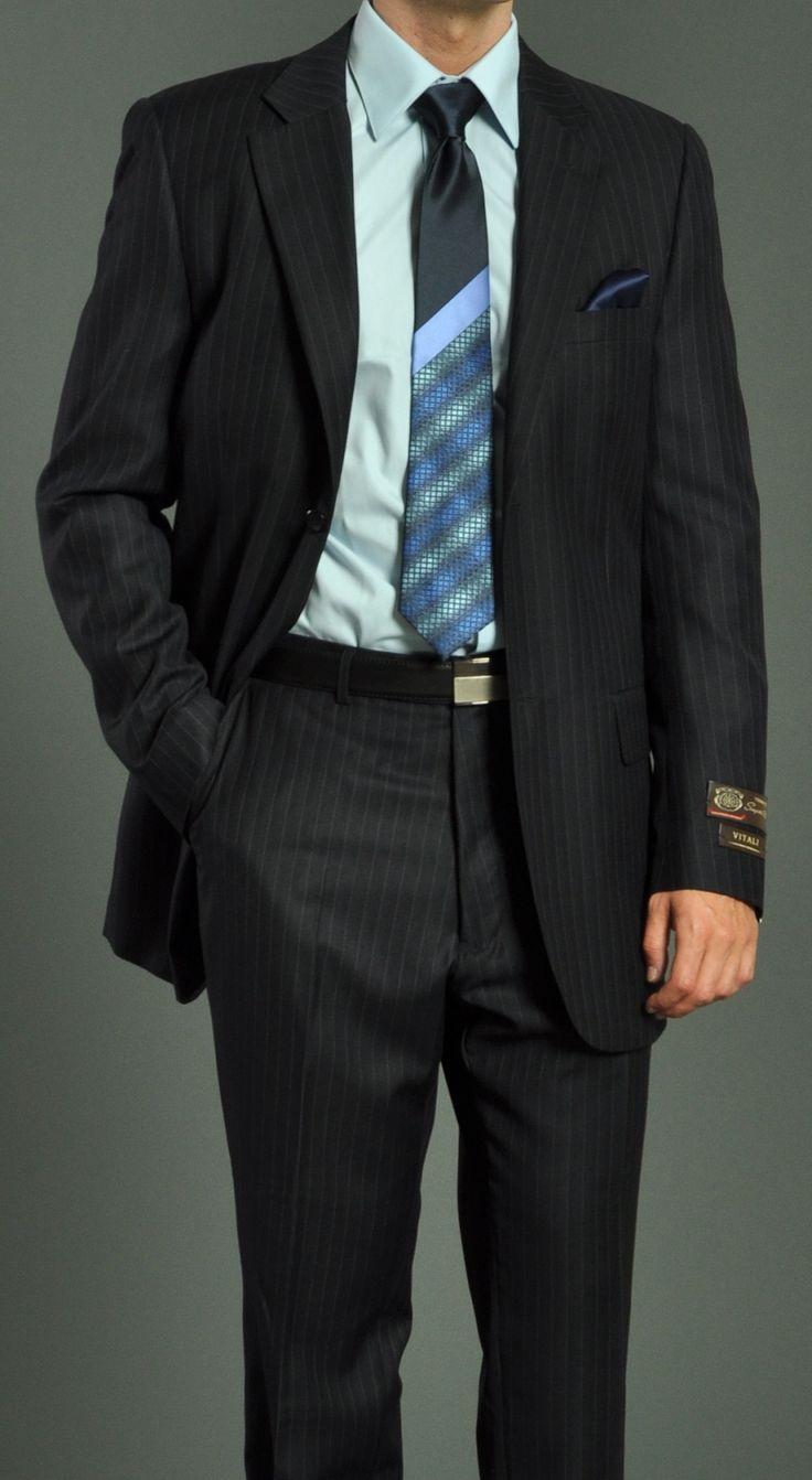 15 besten Men Stripe Suits Bilder auf Pinterest   Slim fit anzüge ...