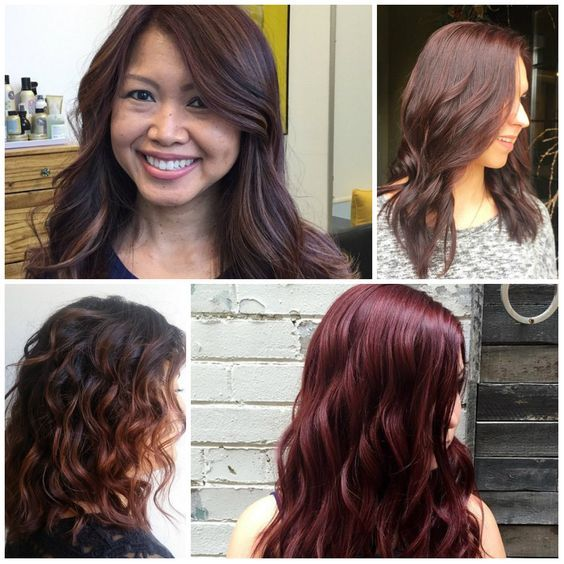 Hottest Mahogany Hair Colors for 2017