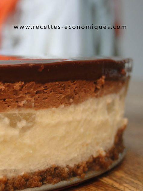 Une recette d'un bavarois poires chocolat à faire le thermomix, une jolie recette pour un dessert tout en douceur, un vrai régal, pour toutes les occasions.