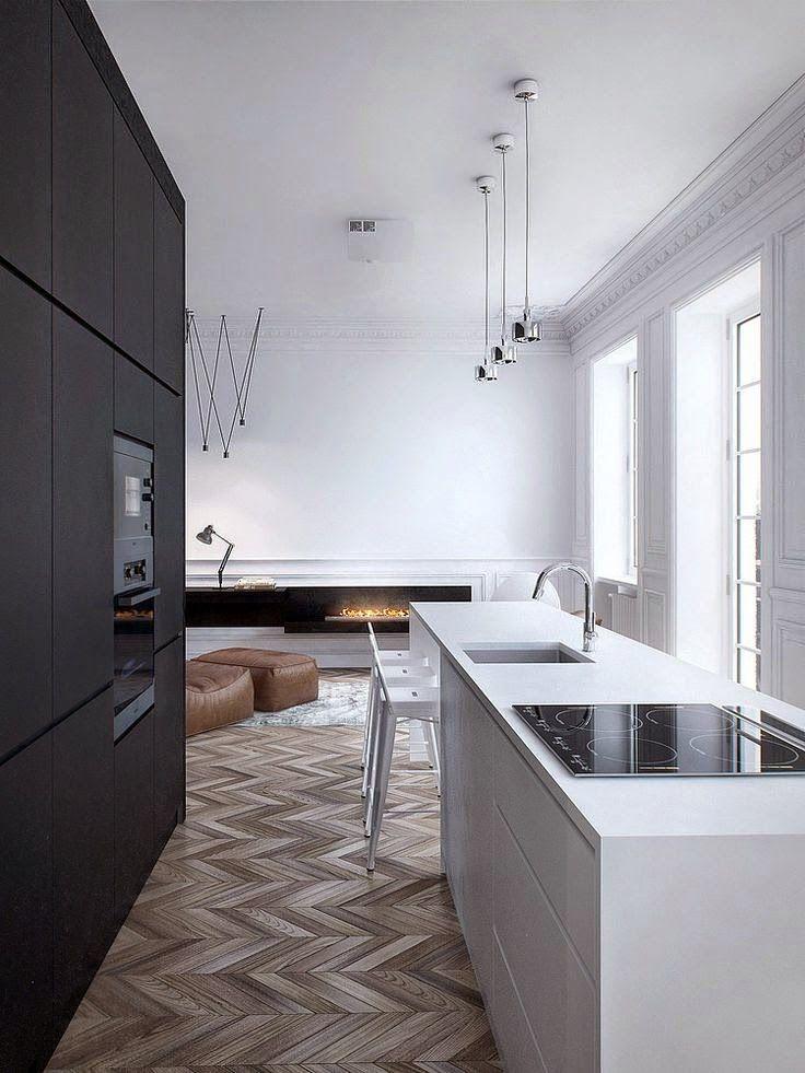 Post: I'M HEADIN HOME  Featuring: #interiors #interior #interiordesign #blackandwhite #monochrome #interiordesigner #loftapartment