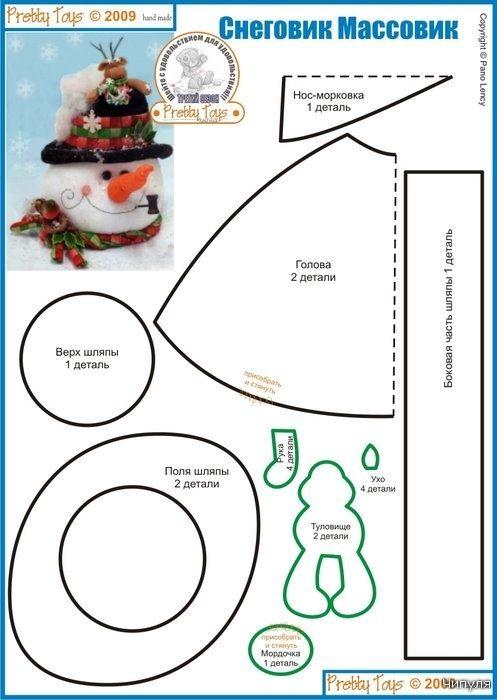 Revista: Juguetes de Pretty № 24. Autor - Tatiana Vorobyov muñecos de nieve. Comentarios: LiveInternet - Russian servicios en línea Diaries