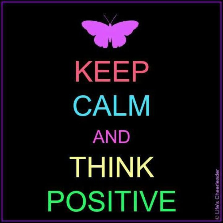 Keep Calm And Think Positive. That Should Be The Number One Key In Homec :