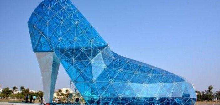 The Giant Glass Slipper Church of Taiwan