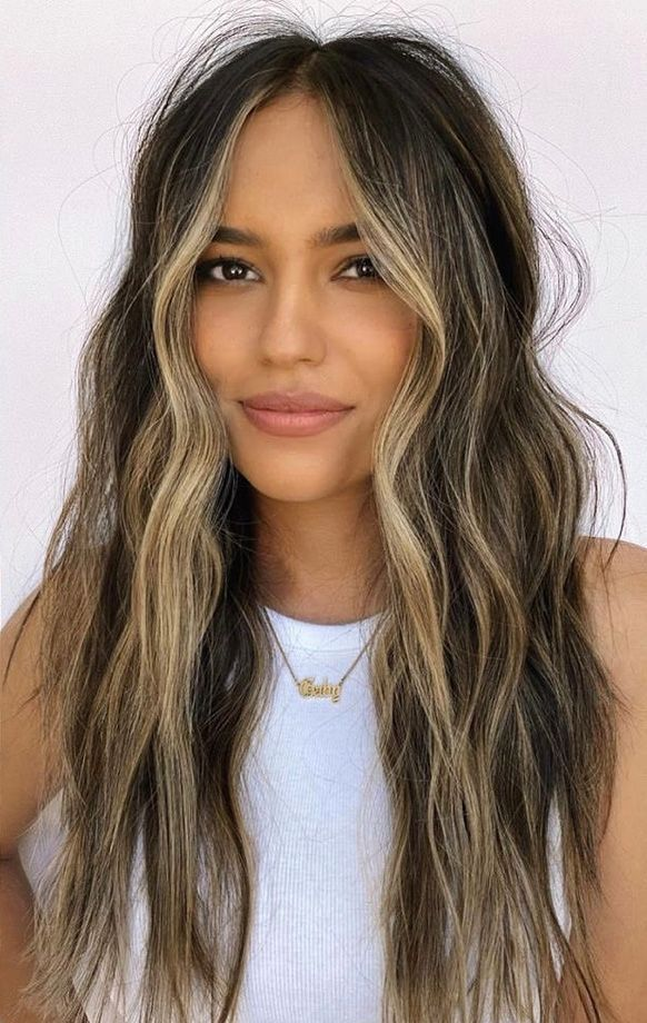 15 Winter Hair Colors We Re Swooning Over Already Hair Inspo Color Hair Inspiration Color Brown Hair With Blonde Highlights