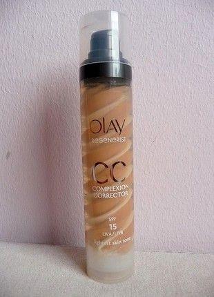 Kup mój przedmiot na #vintedpl http://www.vinted.pl/kosmetyki/pielegnacja-twarzy/10889619-olay-regenerist-cc-complexion-correction-spf-15-krem-cc-podklad-fluid-jasna-karnacja-light