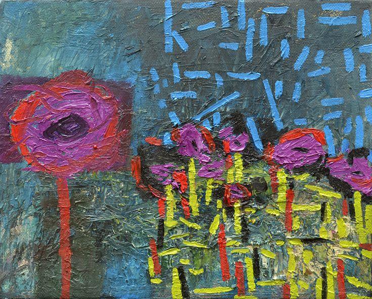 Willie van Rensburg Beyond 43 Oil on canvas (26 x 20cm)
