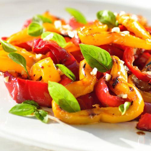 Salade fraîcheur aux poivrons