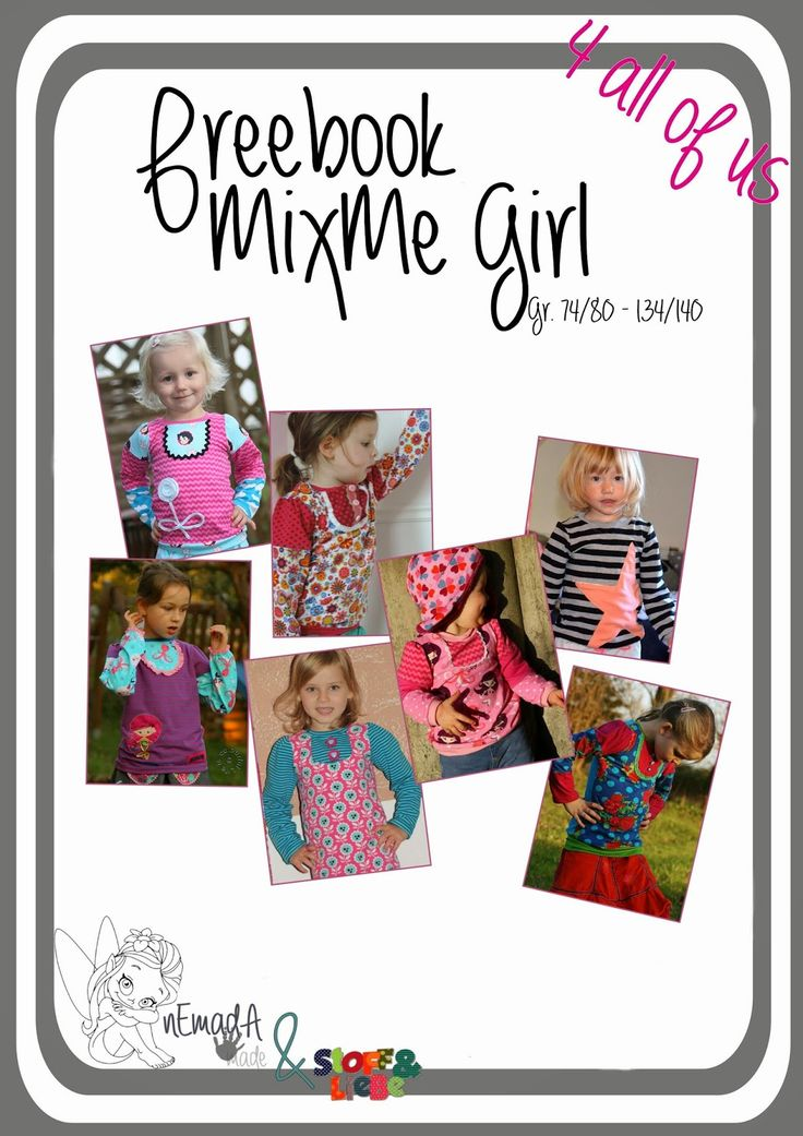 51 besten Kinder Pullover, Shirts, Hoodies & Co. Schnittmuster ...