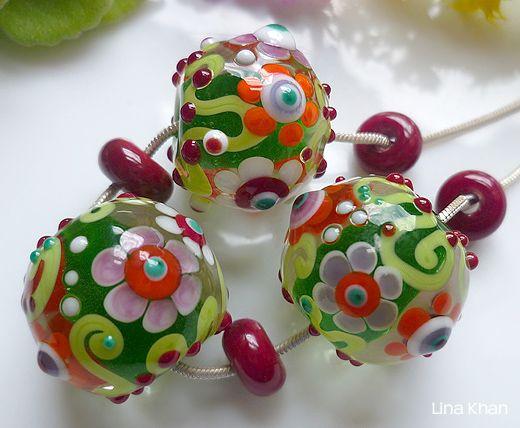 6657 besten lampwork beads bilder auf pinterest glasperlen glaskunst und perlenschmuck. Black Bedroom Furniture Sets. Home Design Ideas