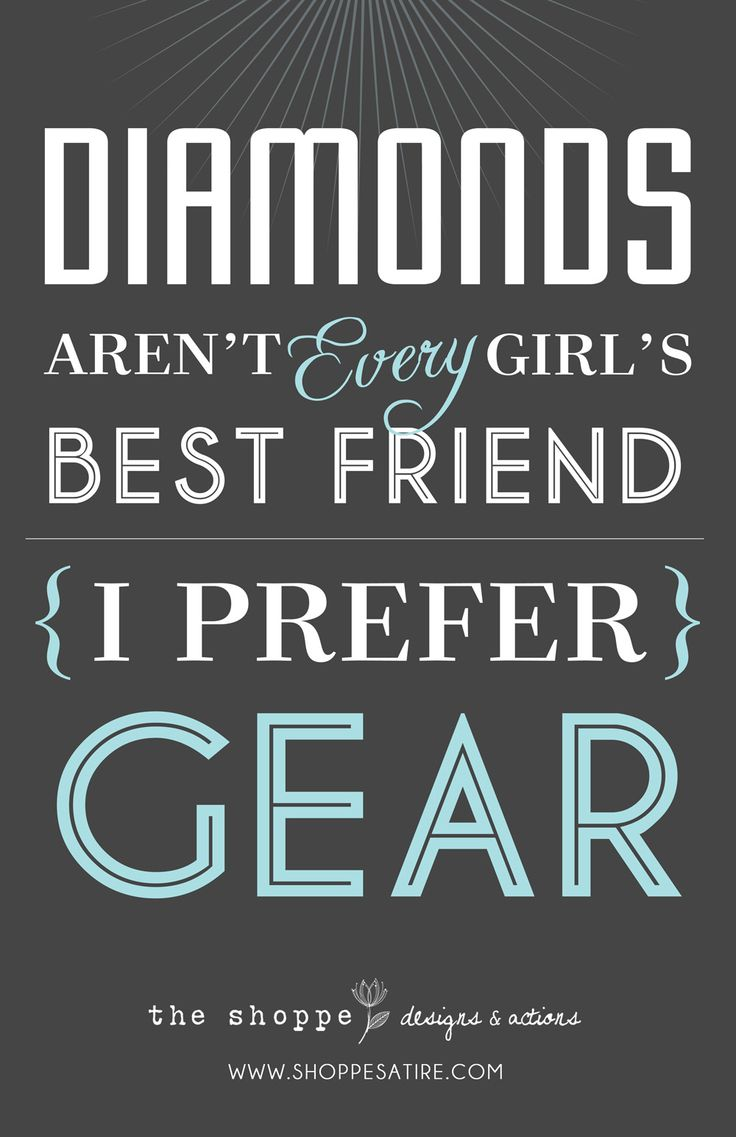 Shoppe Satire ~ Humor for Photographers ~ Good Typography...I love diamonds, too though. Ha ha h