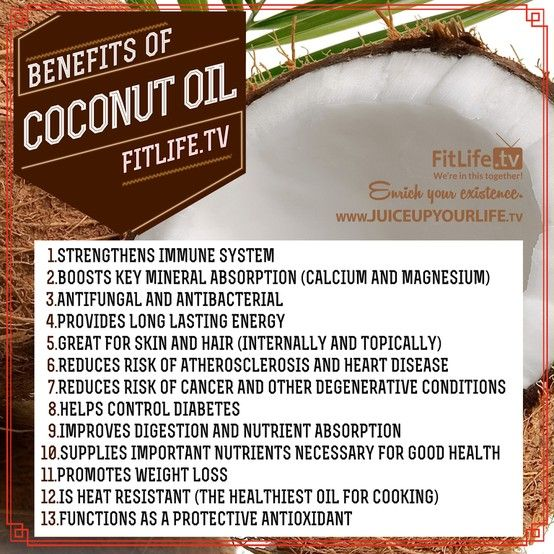 The Benefits of Coconut Oil!