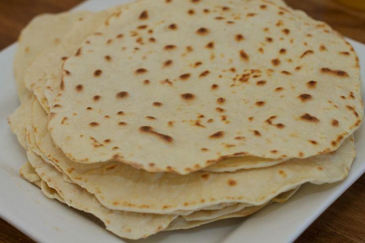 Wrap tortilla zelfgemaakt
