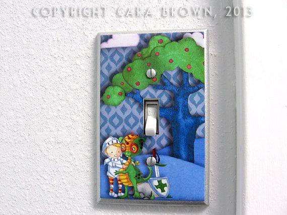 knights & Dragons fantasy nursery