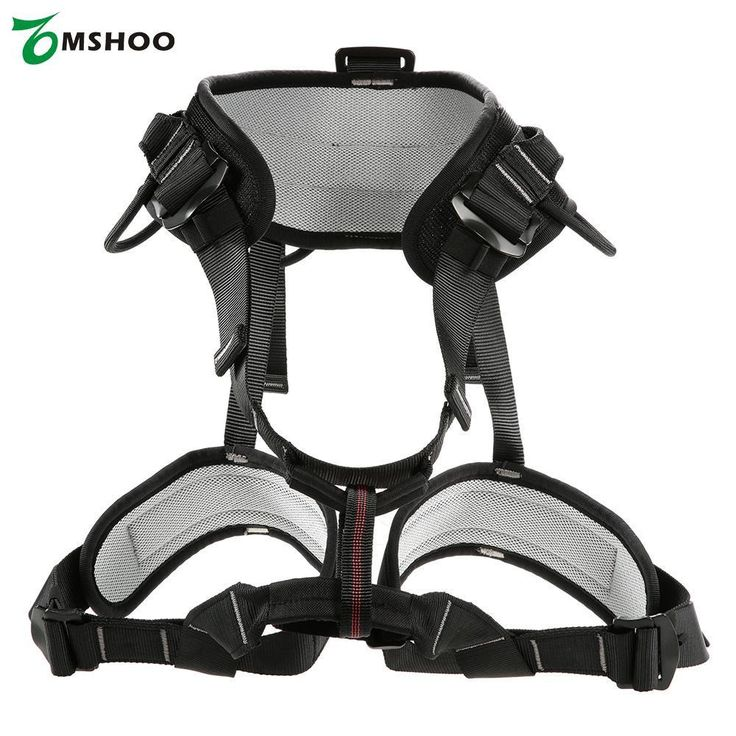 Outdoor Mountaineering Rock Climbing Rappelling Climbing Harness Seat Safety Sitting Bust Belt Half-body Downhill Safety belt