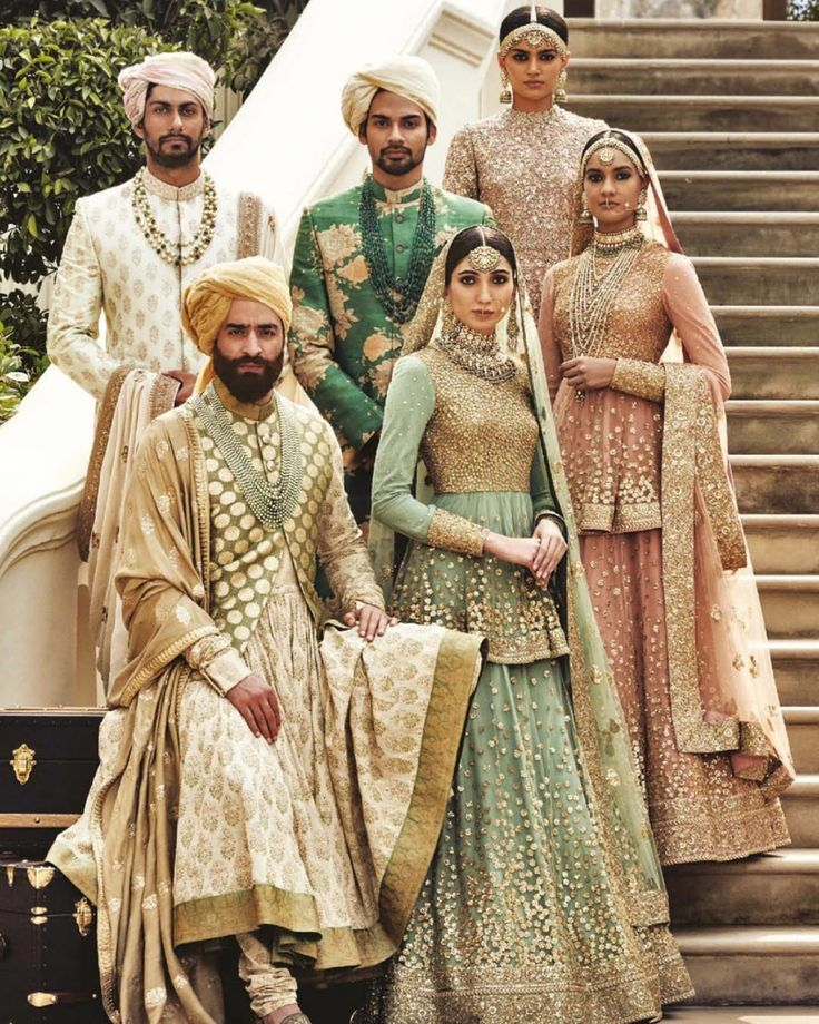 Sabyasachi Heritage Bridal Collection / Check out the designer's take on bridal trends for the upcoming year in our 2016 Bibi #Bridal Annual: www.bibimagazine.com/bibi-annual-print-magazine/ #BibiMagazine
