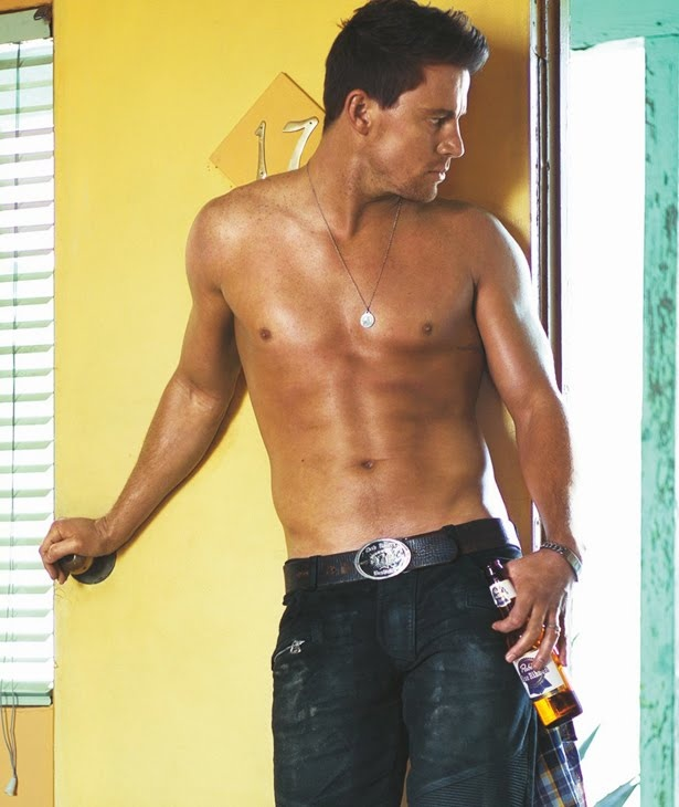 Channing Tatum, please come in. Yes please!