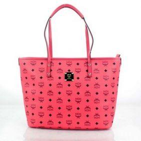 Pink Shopper MCM Bags Price Sale
