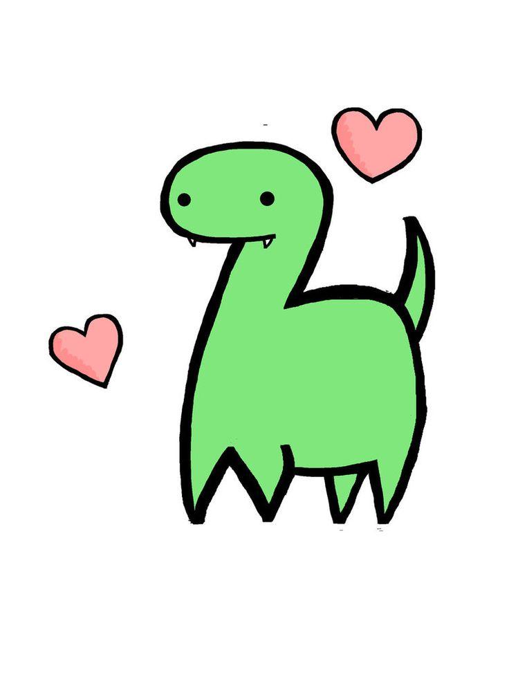 Cute Dinosaur by HalfDecaf.deviantart.com on @DeviantArt ...