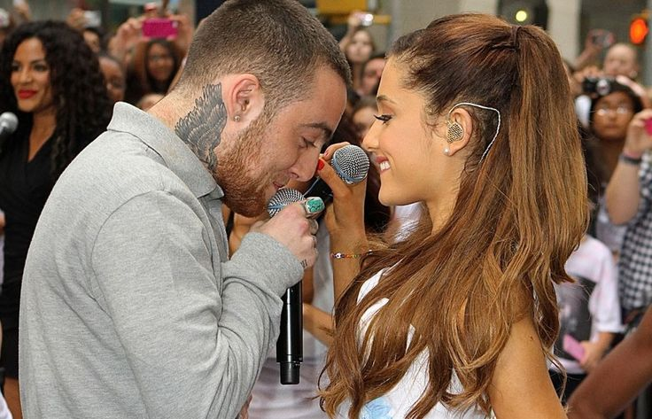 Ariana Grande And Mac Miller Pictures