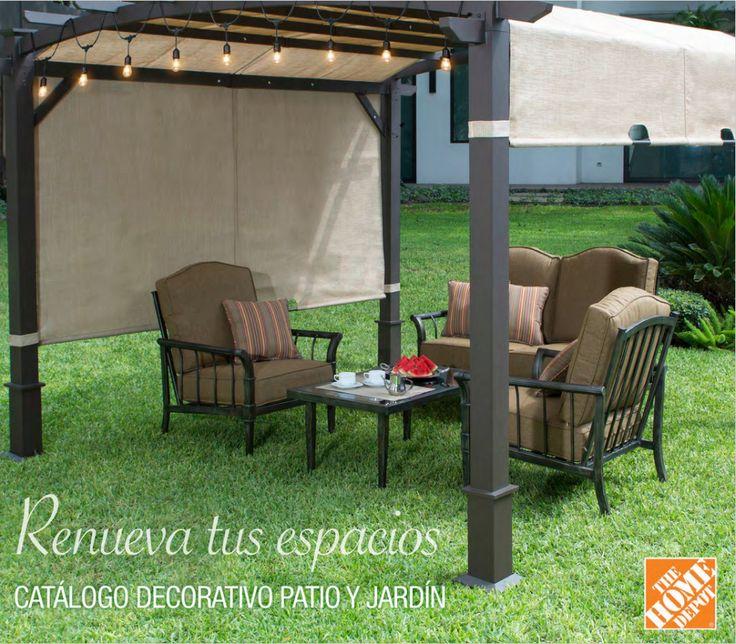 ¡Visita nuestro catálogo digital y encuentra todo lo que necesitas para tu patio o jardín! Muebles para patio y jardín.